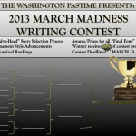 2013 March Madness Writing Contest